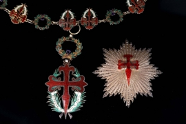 Portugal - Order of St. James of the Sword - Collar Chain with Badge and Star