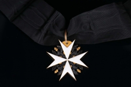 Prussia - Order of St. John - Honor Knight Cross