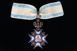 Serbia - Order of St. Sava - 2nd Class Neck Cross 1st type