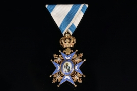 Serbia - Order of St. Sava - 3rd Class, 3rd type