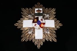 Spain - Order of Military Merit - IV Class Grand Cross Star, 1864-1876