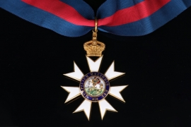 United Kingdom - Order of St. Michael and St. George Knight Commander Cross