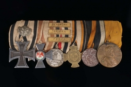 Prussian Non-Combatant Medal Bar
