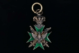 Saxe-Weimar - Miniature to Knight's Cross 2nd Class with Swords