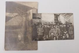WWI Jagdstaffel 67 - two photos