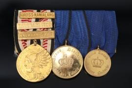 Medal Bar of a South West Africa Veteran - Kalahari 1907/08
