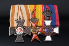 Medal Bar - Captain Max Moeller