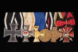 Medal Bar - To Lieutenant Colonel Kuno von Puttkamer