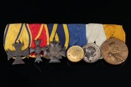 Medal Bar - Gendarmerie Sergeant Karl Schwarze