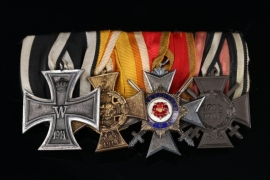 Medal Bar to a Lippe-Detmold WWI veteran