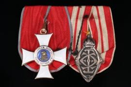 Medal Bar - Hessian Philip Order and Wedding Medal