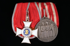 Medal Bar - Hessian Philip Order and Medal for Arts & Science