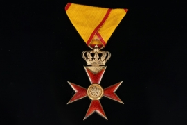 Mecklenburg - Order of the Griffin - Knight's Cross with Crown