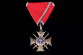Hesse-Darmstadt - Order of Philip the Magnanimous - Silver Cross with swords 2nd Type