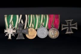 Medal Bar to a Saxon WWI Veteran