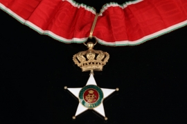 Italy - Colonial Order of the Star of Italy Commander Cross