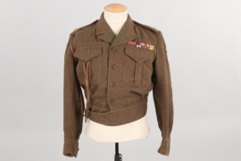 XXX Corps 1945 battle dress tunic (1945)