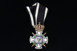 Prussia - House Order of Hohenzollern Knight Cross with Swords