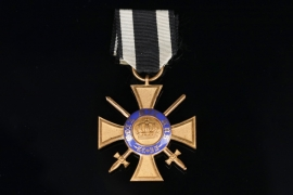 Prussia - Crown Order 4th Class with Swords