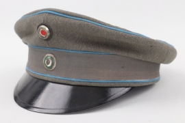 Saxony - Garade officer's visor cap