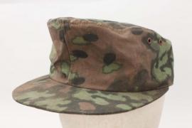 Waffen-SS reversible oak leaf camo field cap