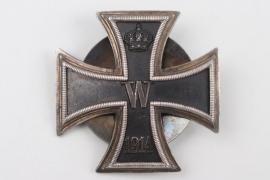 """1914 Iron Cross 1st Class on screw-back """"800"""" - Deutschen Offiziersverein"""