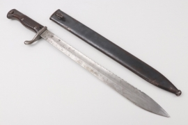 Prussia - sawback bayonet SG 98/05 - Deutsche Maschinenfabrik
