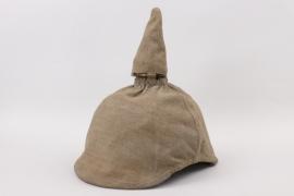 Spike helmet cover