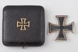 1914 Iron Cross 1st Class in case to Uffz. Hahn - engraved