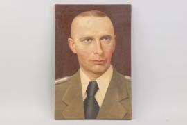 Oil of Stepan Bandera - 54x36