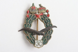 "Miniature to Field Pilot's Badge ""K"""