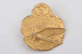 """K.u.K. """"Flugtechnischer Verein"""" badge on buttonhole attachment"""