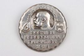 """1916 k.u.k. cap badge """"Bosnien, Herzegowina, Dalmatien"""""""
