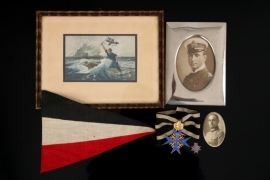 """Pour le Mérite with Oak Leaves winner grouping - Wagner """"938"""""""