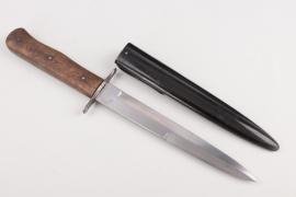 Luftwaffe combat boot knife - acceptance mark