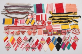Lot of Austrian ribbons