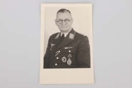 Luftwaffe portrtait photo of a WWI observer