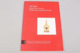 "Book ""Order of the Iron Crown (Austria)"""