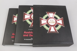 """""""Austrian Orders and Decorations"""" by Ortner & Ludwigstorff - Volume II"""