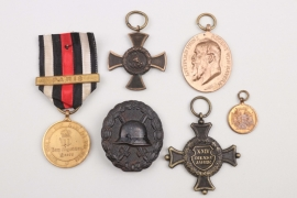 WWI lot of badges