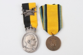 Saxony - two medals