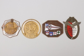 Lot of impressive ADAC plaques