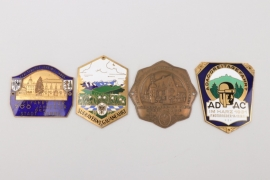Lot of impressive enamel ADAC plaques