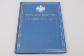 """Book """"Orden und Ehrenzeichen des Königreichs Bayern"""""""