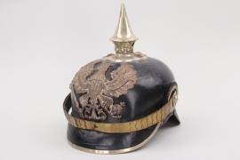 Prussia - M1891 Pionier spike helmet for an officer