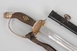 Major Ellersiek - Prussian M1889 Infantry Officer's Sword