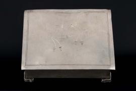 """Wehrmacht case - engraved """"Kopenhagen 1944"""""""
