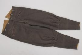 Heer stonegrey officer's breeches - E39