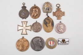 Lot of Austrian and German badges