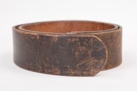 Leather belt - Lüneschloss